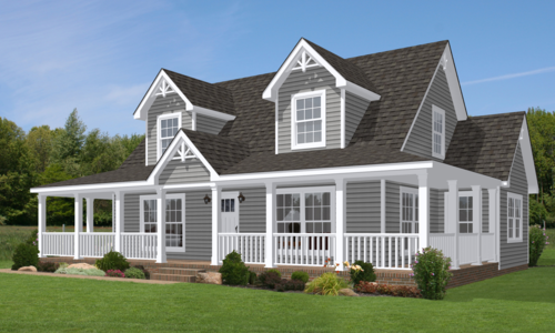 Cape cod modular housing by bayside homes delaware it s for Cape cod beach homes