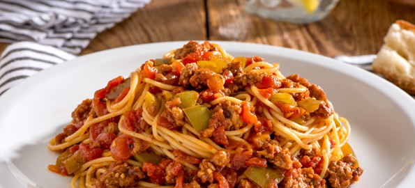Sloppy Joe Spaghetti Recipe