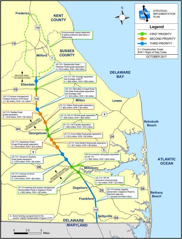 UPDATE: DelDOT unveils new plan for Route 113 | Cape Gazette