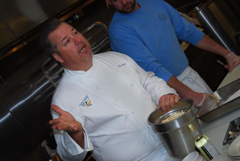 Delaware cooking classes target hobbyists and future chefs for Big fish seafood bistro