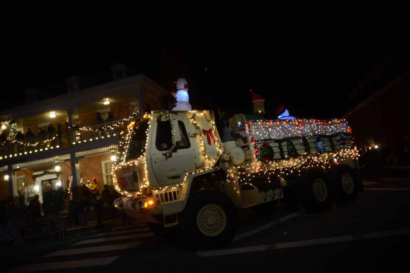 they won the best theme parade of lights category georgetown christmas parade