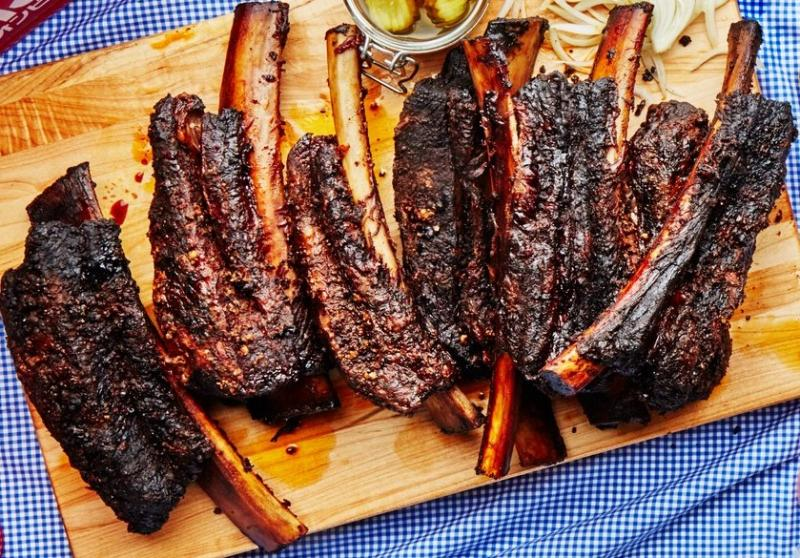 Dinosaur Smoked Beef Ribs Recipe - Made with Dinosaur Bar ...