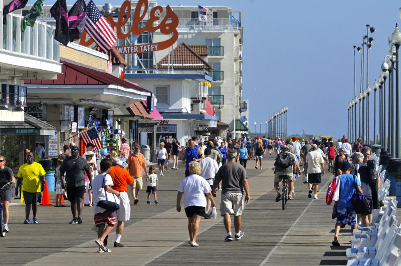 The Rehoboth Beach Boardwalk As A Tourist Trap