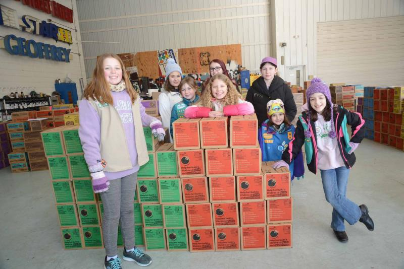 Girl Scout Cookie Sales Begin In Sioux Falls
