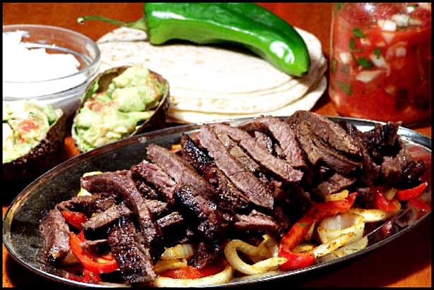 Southwest Steak Fajita Recipe
