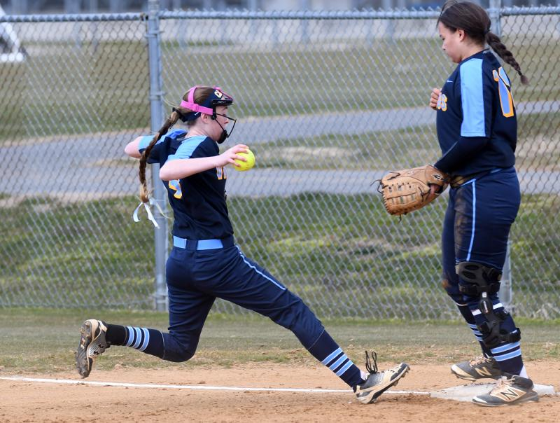 Hawk softball continues hot season start with back-to-back wins