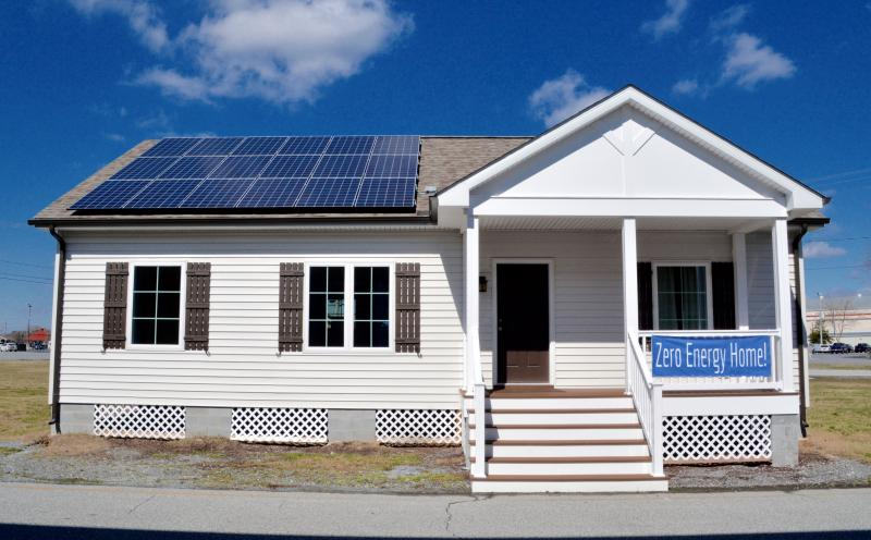 Zero Energy Homes Arrive In Delaware Cape Gazette