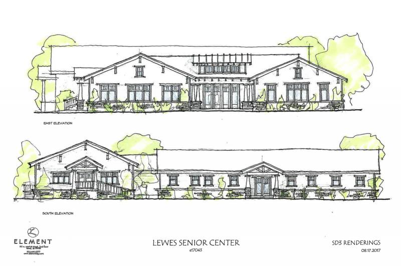 fc38b99b42646 The board of the Lewes Senior Activity Center plans to break ground on its  major expansion in a few months. SOURCE  LEWES SENIOR ACTIVITY CENTER