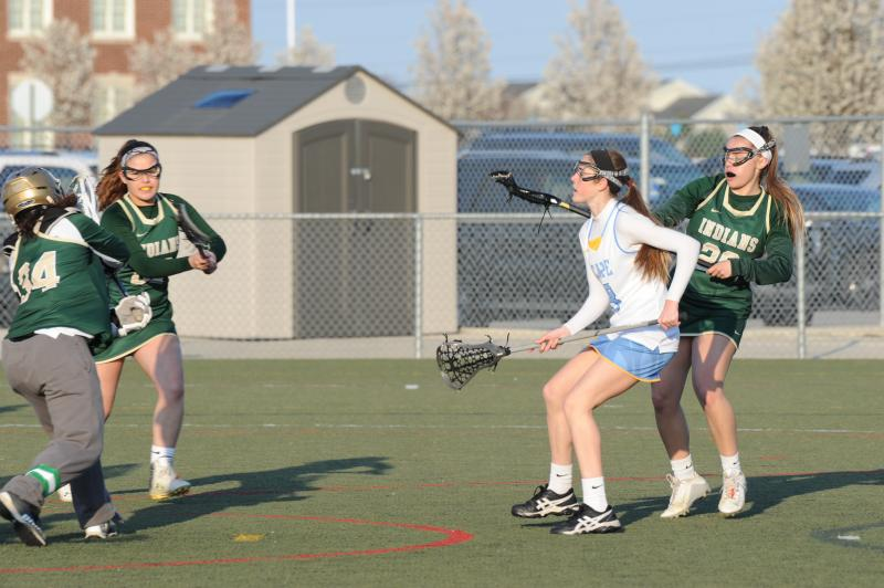 Ridgefield girls lax team beats John Jay