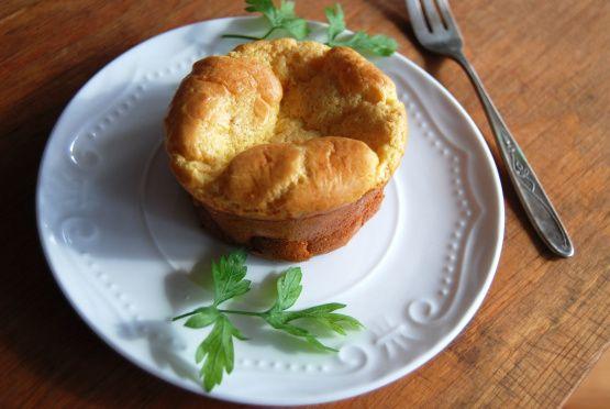 Curry Bacon & Cheese Soufflés Recipe