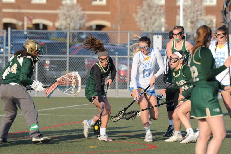 Dexter Girls Lacrosse Routs Tecumseh (With Pictures)