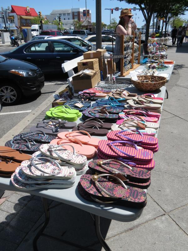 Early Pers Will Find The Best Selection Of Merchandise At Rehoboth Beach Dewey Chamber Commerce Sidewalk May 18 20 Submitted Photo