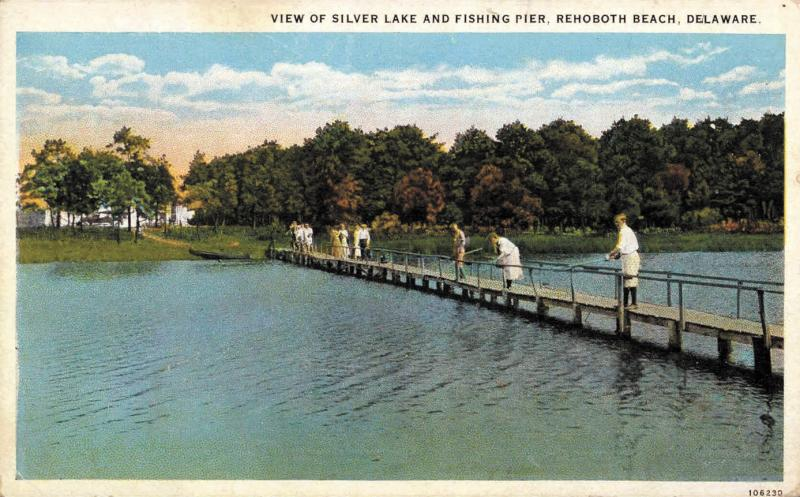 Silver Lake Fishing Pier Before The