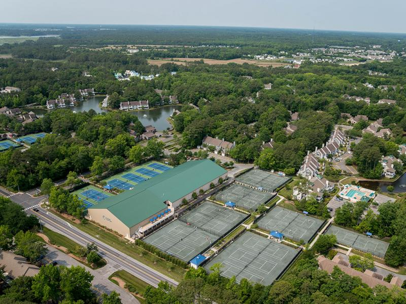 The Sea Colony Tennis Facility Just South Of Bethany Beach Earned High Rankings In Resorts Online 2018 Report Submitted Photo