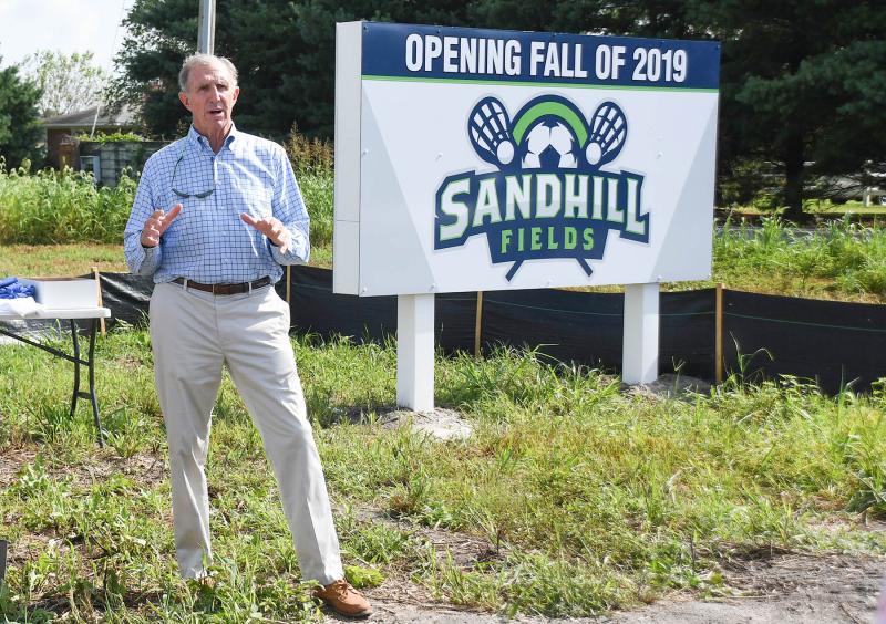 Sussex Sports Center breaks ground for Sandhill Fields | Cape Gazette