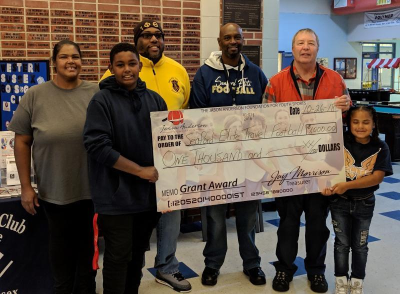 Jason Anderson Foundation awards two grants  57cde5e41