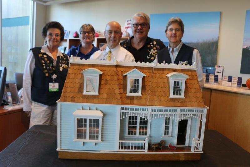 Tunnell Volunteer Builds Dollhouse For Nov 17 Beebe Ball Fundraiser