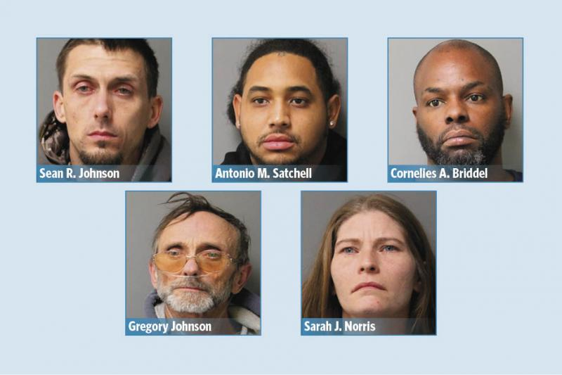Five charged in Dagsboro drug bust | Cape Gazette