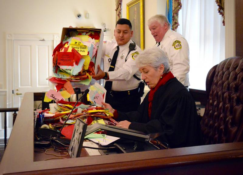 Kris Kringle goes on trial in Sussex County