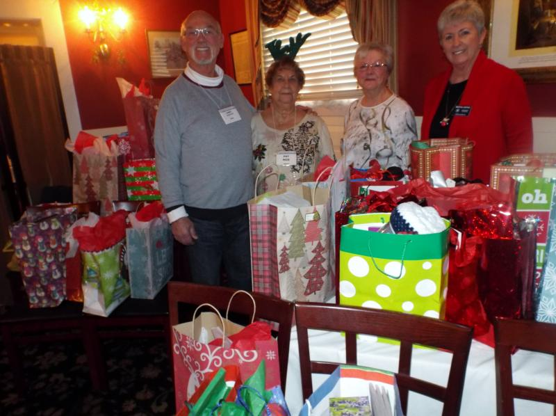 Narfe Chapter Collects Gifts For Area Nursing Facility Residents