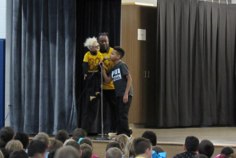 H O  Brittingham Elementary celebrates Black History Month
