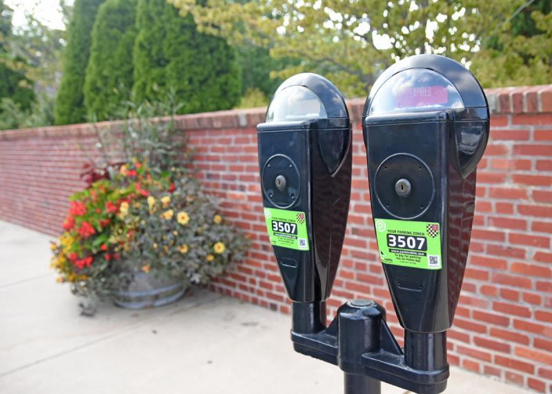 52dbd5ca0690c These old meters near St. Peter s Church will be replaced this spring with  new equipment that accepts credit cards. As a result