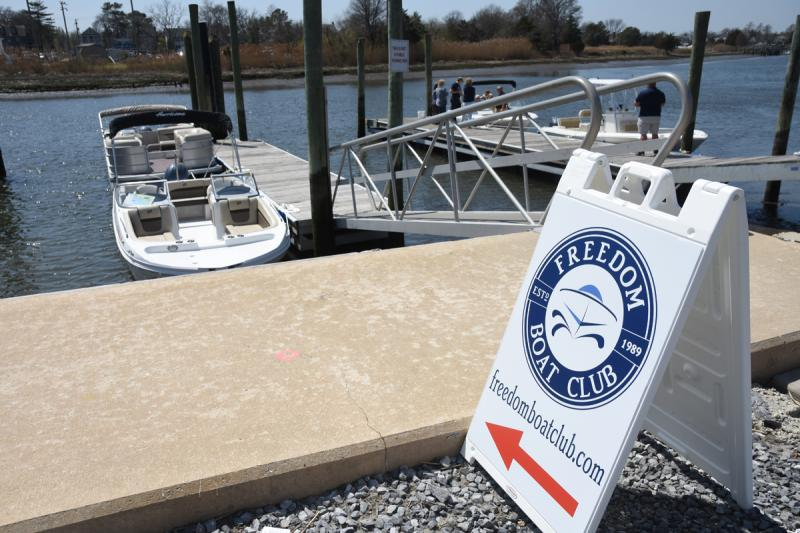Freedom Boat Club to share pier at Lewes Ferry Terminal starting May