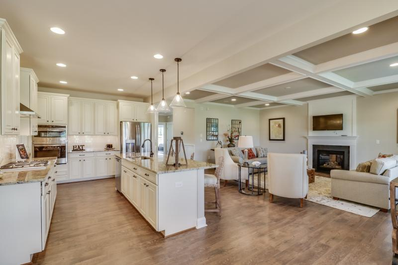 Open Floor Plan and Carefree Living
