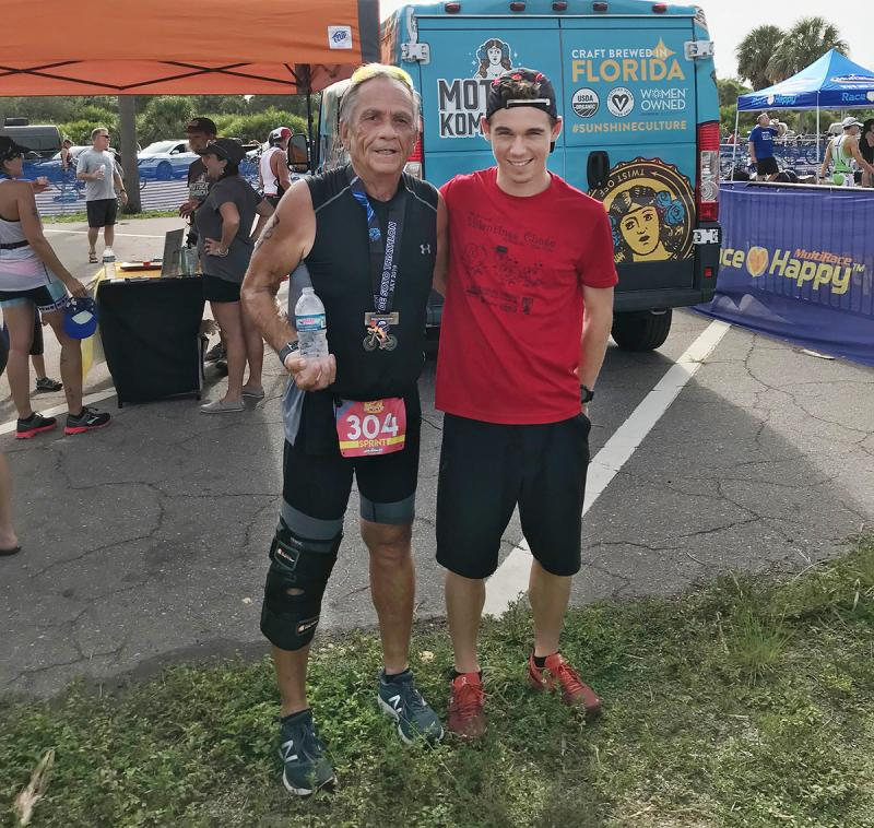 Local Joe D'Amico tackles Florida Sprint Triathlon | Cape