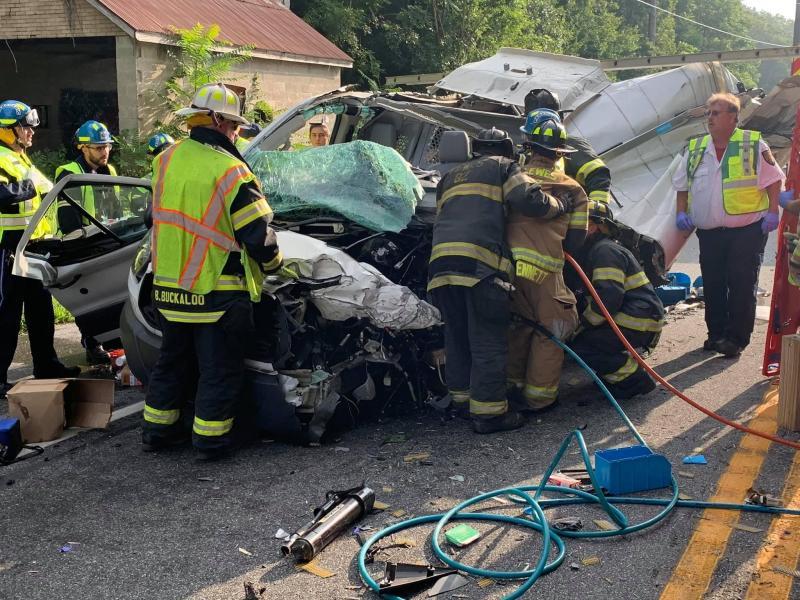Milton man dies in Harbeson crash