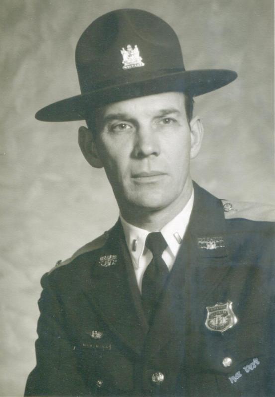 William 'Bill' Thomas Willin Jr , retired state trooper