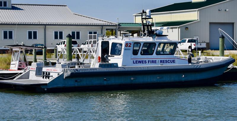 Lewes fire-and-rescue boat back in action | Cape Gazette
