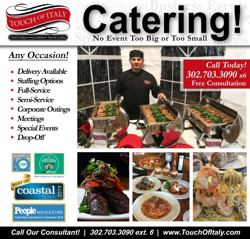 Catering, Holiday Parties, Banquets,