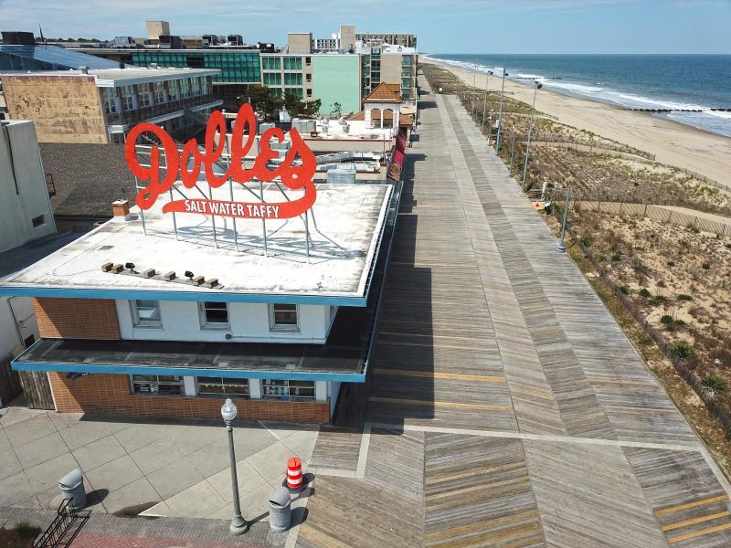 Rehoboth Beach Removes Boardwalk
