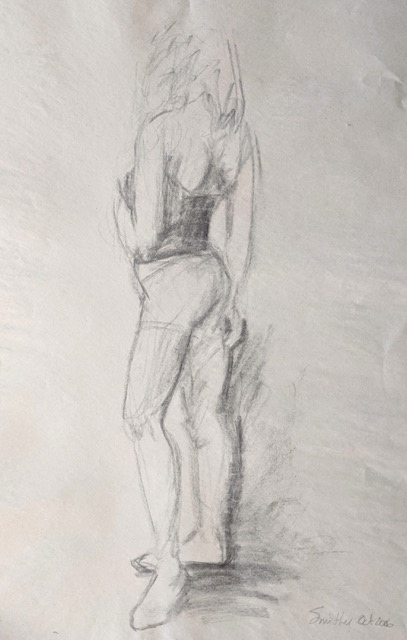 March 18 | 1 - 3 pm • Beginner class on figure drawing from life to start March thru April 8