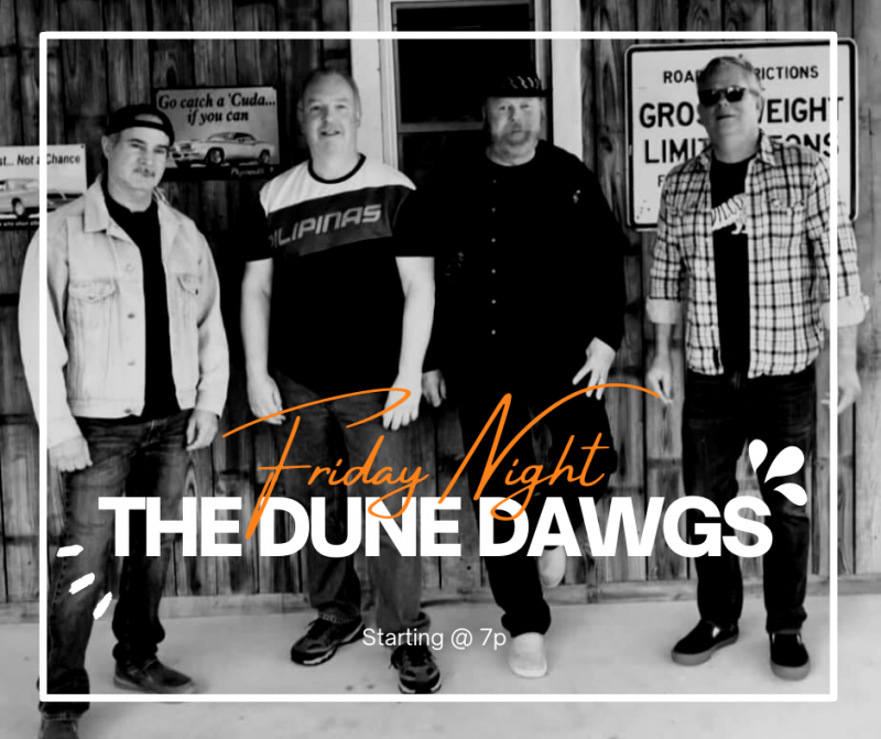 Blues with The Dune Dawgs Band!