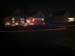 tony citrano and gene harris decorate their home for the holidays but vandals have struck twice damaging their christmas lights source submitted