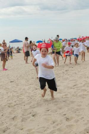 Its A Mad Dash For The Kids Running Of Bull KRISTEN LATHAM PHOTO