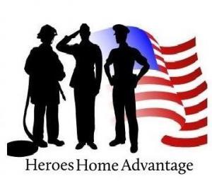 Heroes Home Advantage real estate savings
