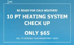 Heating, Inspection, Heater, Tune Up, Chesapeake Climate Control, HVAC