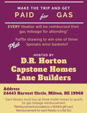 Realtor Event, Models, Incentives, Free Gas