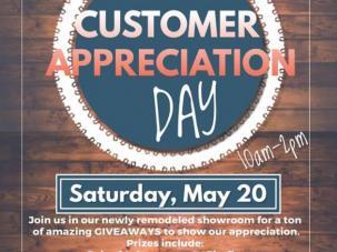 Let Us show you our APPRECIATION!!!