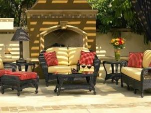 outdoor wicker charleston