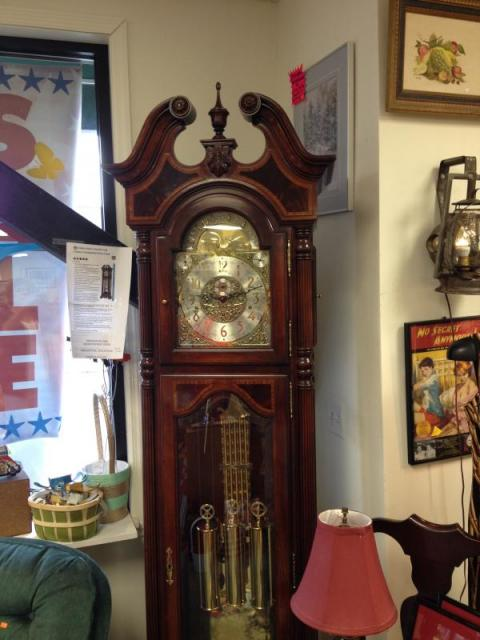 did you always want a grandfather clock this one is so special made by howard miller as part of his collection it is an awesome piece - Howard Miller Grandfather Clock