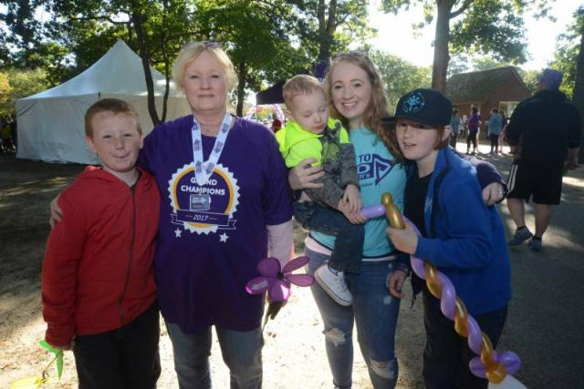 Walk to End Alzheimer's held
