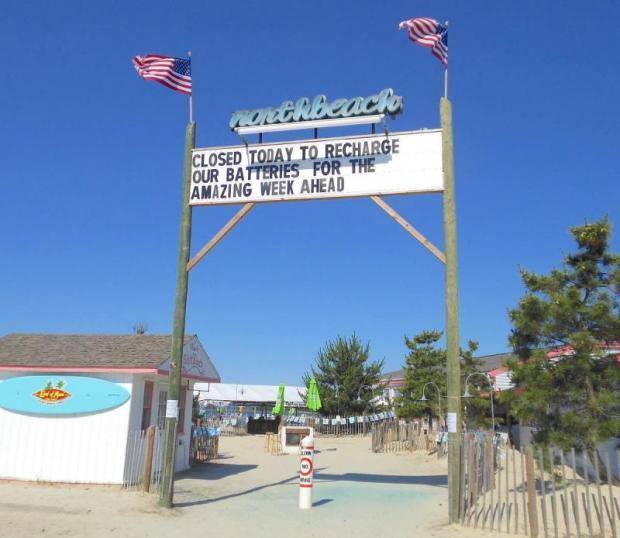 North Beach Dewey Menu