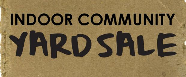 yard sale, garage sale, indoor community yard sale, Wicomico Youth & Civic Center, Wicomico Recreation, Salisbury