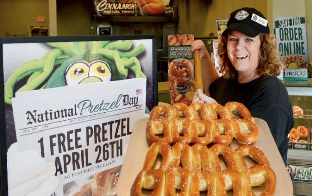 lifestyle national pretzel april free from philly factory