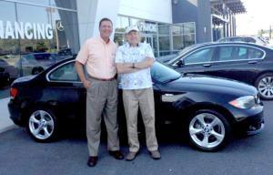 I G Burton Dealership Announces Bmw Raffle Winner Cape Gazette