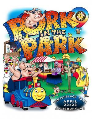 Pork in the Park, Salisbury, festival, Maryland, BBQ, barbecue, barbeque, Wicomico, Eastern Shore, Delmarva